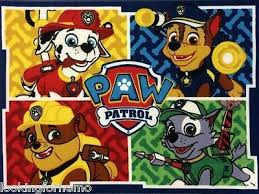 Paw Patrol Room Decor Paw Patrol Character Area Rug 40