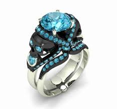 skull wedding rings skull wedding ring sets inspirational skull engagement ring 10 k