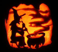 Free Scary Halloween Pumpkin Stencils - spooky witch u0027s brew by johwee on deviantart