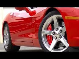 customize your corvette with brake calipers covers
