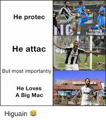 Memes For Fb - he protec fbcom he attac eep but most importantly he loves je