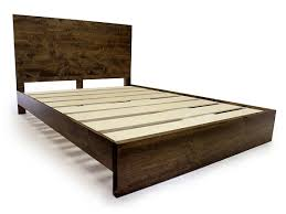 Headboard Bed Frame Wood Platform Bed Frame And Headboard Simple Bed Frame