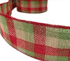 wire edged ribbon wire edged craft ribbons 1 1 2 width ebay