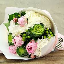 hydrangea bouquet peonies and hydrangea delivered sydney flowers for everyone