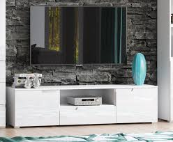 White Gloss Furniture Cellini White Gloss Tv Unit Media Entertainment Furniture S9