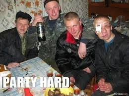 Party Hard Meme - party hard locopengu why so serious witze meme lustiges zitate