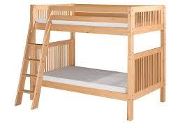 Pine Bunk Bed Harriet Bee Oakwood Pine Wood Bunk Bed Reviews