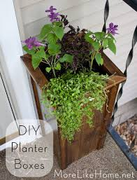more like home diy planter boxes