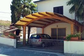 coperture tettoie in pvc foto tettoia posti auto ad arco con copertura in pvc di 3emme
