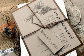 rustic chic wedding invitations wedding invitations as the medium and souvenir in the same