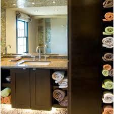 bathroom storage between bath tub and vanity bathroom storage