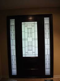 Modern Front Entry Doors In African Mahogany Chad Womack by Front Entry Door With Two Side Panels Home Design Mannahatta Us