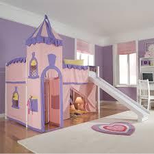 Bunk Bed With Slide Bedroom Loft Beds Kid With Slide Childrens