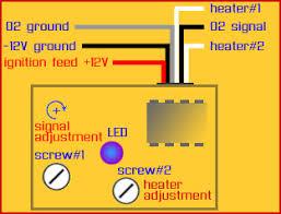 opel frontera magnum o2 sensor simulator to 3 or 5 volt 4 wire