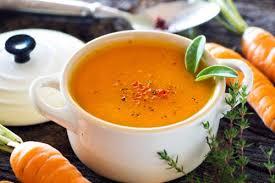 cuisine anti cholesterol recette facile de potage aux carottes recettes anti cholesterol