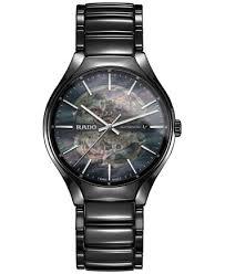 ceramic bracelet images Rado men 39 s swiss automatic true black ceramic bracelet watch 40mm tif