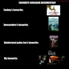 Documentary Meme - meme time favourite dinosaur documentary by titanlizard on