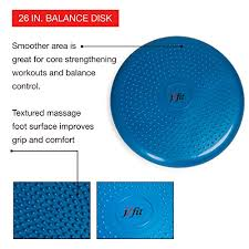 j fit inflatable balance u0026 stability disc largest in industry 26