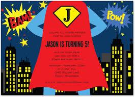 superhero party invitations u2013 unitedarmy info