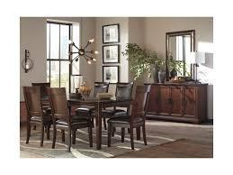 signature design by ashley shadyn rectangular dining room