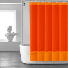 Orange Shower Curtains Shower Curtain Orange 28 Images Items Similar To Pink To