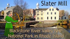 Rhode Island national parks images Blackstone river valley national park slater mill in rhode jpg
