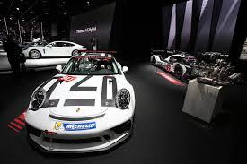 porsche 911 gt3 front paris 2016 porsche 911 gt3 cup gtspirit