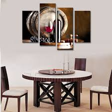 Painting Dining Room by High Quality Canvas Painting Dining Room 4 Buy Cheap Canvas