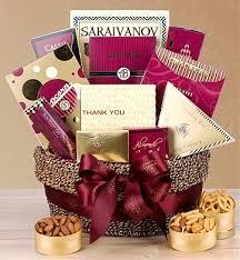 thank you gift basket gift baskets florists christmas hanukah balloons