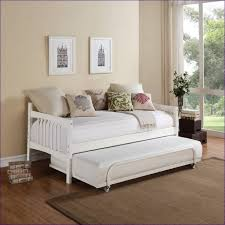 bedroom wonderful upholstered daybed with pop up trundle sofa