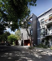 modern brick house siamoises mentana boyer modern architecture