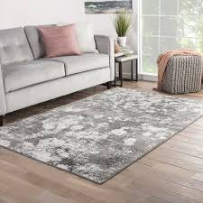 Brown And White Area Rug Mondrian Abstract Gray White Area Rug 7 6 X 9 6 7 6 X 9 6