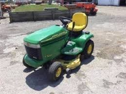 john deere riding lawn mower for sale 10 listings page 1 of 1