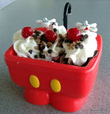 The Kitchen Sink Disney New Mickey Kitchen Sink Sundae Aka The Mickey Sundae In