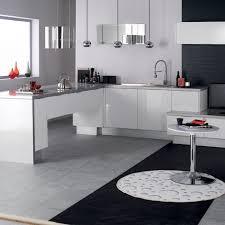 modele cuisine blanc laqué cuisine eslöv en mélamine laqué blanc hygena meuble cuisine blanc