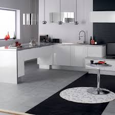 credence cuisine blanc laqué cuisine eslöv en mélamine laqué blanc hygena meuble cuisine