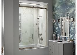 Keeping Shower Doors Clean Shower Door Guide Bathroom Kohler