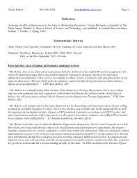 Respiratory Therapist Job Description Resume by Cheryl Bolton Resume Rrt