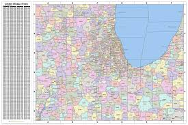chicago map printable search the maptechnica printable map catalog maptechnica
