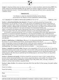 sample ordinance adopt amendments administratively mtas more