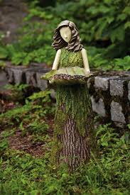 Statue For Garden Decor 10 Amazing Tree Stump Ideas For The Garden Balcony Garden Web