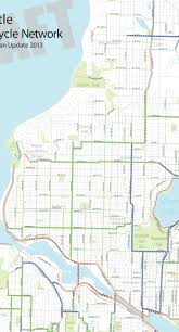 Neighborhoods Seattle Map by Bike Master Plan Draft 2 Nw Seattle Fremont Phinney Greenwood