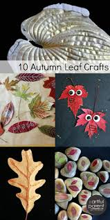 10 autumn leaf crafts for kids stained glass crafts craft