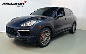 Porsche Cayenne Headlights - 2011 porsche cayenne turbo for sale in norwell ma a87672