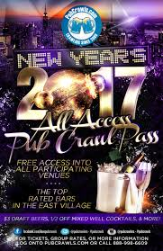 new york city halloween bar crawl nyc all access pub crawl pass new year u0027s eve 2017 tickets bar