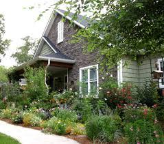 Landscape Flower Garden by Splendid Flower Bed Ideas Front Of House Decorating Ideas Gallery