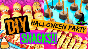 diy halloween party snack treat ideas youtube