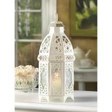 Lantern Centerpieces 25 White Moroccan Wedding Candle Holder Lantern Centerpieces Cheap