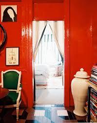 throwback home tour nick olsen u0027s tiny red apartment small