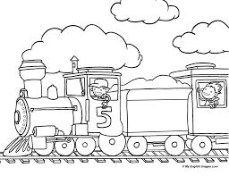 train outline line drawing painting kindergarten worksheet guide